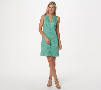 Sam Edelman Lace V-Neck Shift Dress