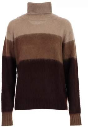 Golden Goose Sweater L/s Turtle Neck Tricolour