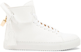 Buscemi 125MM High Top Leather Sneakers