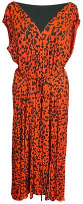 Vetements Red Viscose Dresses
