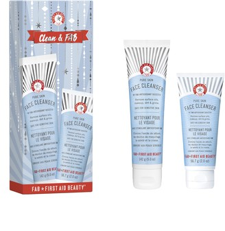 First Aid Beauty Clean & FAB Cleansing Set
