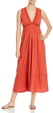 Dolan Tiered Ruffled Maxi Dress