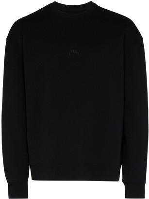 A-Cold-Wall* Logo Crew-Neck Sweater