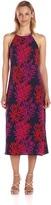 Taylor 8949M Fern Print Jersey Dress