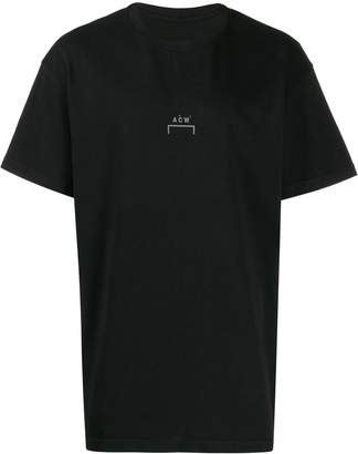 A-Cold-Wall* oversized logo print T-shirt