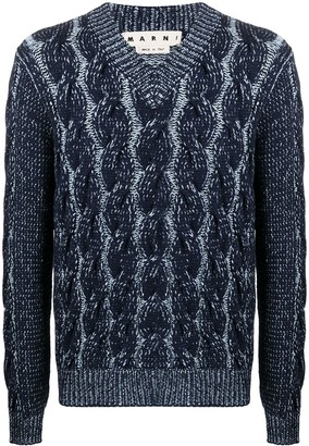 Marni Cable Knit Sweater