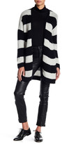 Zadig & Voltaire Romy Striped Cashmere Cardigan