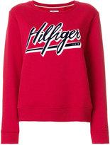 Tommy Hilfiger logo patch sweater