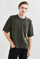 Urban Outfitters Cotton Crew Neck Short Sleeve Sweater