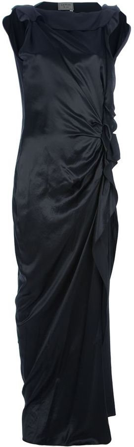 Lanvin ruffled full length dress