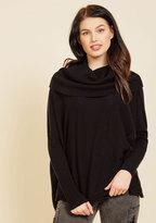 A Cozy Touch Sweater in Noir in M