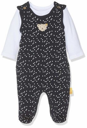 Steiff Baby Girls' Set Strampler + T-Shirt Footies
