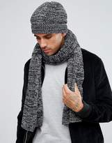 French Connection Marble Knit Beanie Hat