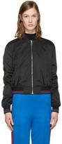 Versace Black New York Medusa Bomber Jacket