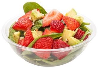 clear Restaurantware Cold Salad Bowl - Disposable PET Plastic Salad Bowl 17.6 oz - Durable & Recyclable - 200ct Box