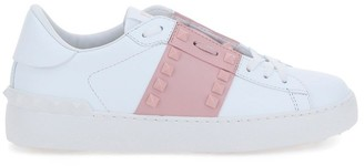 Valentino Rockstud Untitled Low-Top Sneakers