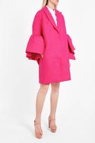 DELPOZO Frill Sleeve Coat