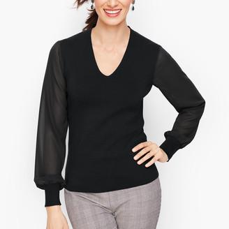 Talbots Poet Sleeve Sweater