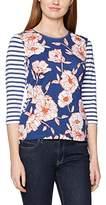 Gerry Weber Women's Flower/Stripe Print T-Shirt