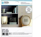 Martha Stewart Crafts - Ornamental Trellis Vintage Decor Stencil Set 8 Designs
