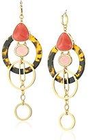 Kate Spade Pink/Multicolored Statement Earrings