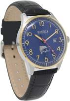 Dakota Men's Quartz Stainless Steel and Leather Casual Watch, Color: (Model: 26153)