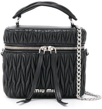 Miu Miu Matelasse leather box bag