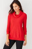 J. Jill Abby Cowl-Neck Sweater
