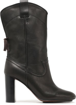 See by Chloe Annika Lace-up Leather Boots