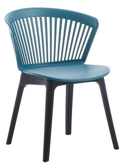 Hashtag Home Everby Slat Back Side Chair Color Red Shopstyle