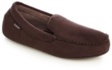 Totes Dark Brown 'pillowstep' Moccasin Slippers