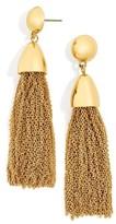 BaubleBar Women's Tassel Drop Earrings