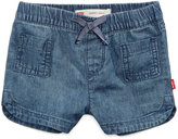 Levi's Pull-On Cotton Dolphin Shorts, Baby Girls (0-24 months)
