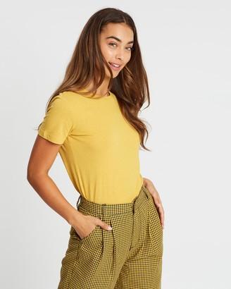 Brixton Karlie Short Sleeve Baby Tee