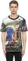 Dolce & Gabbana Taormina Printed Cotton Jersey T-Shirt