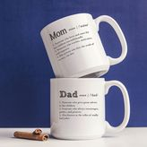 Cathy's Concepts Cathys concepts 2-pc. Parent Definition Coffee Mug Set