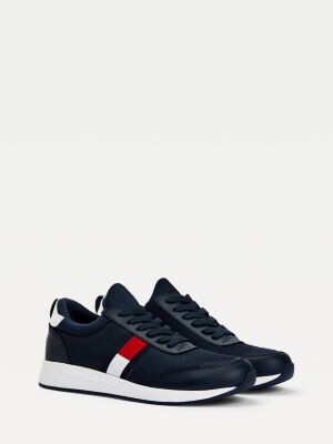 Tommy Hilfiger Stretch Lace-Up Trainers