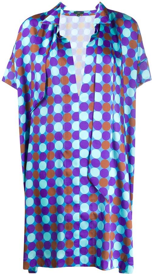 Jejia Geometric Print Shift Dress