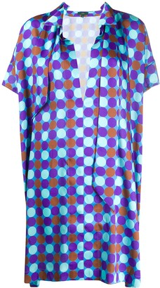 Jejia Geometric Print Shift Dress