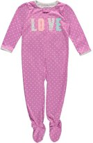"""Carter's Baby Girls' """"Dreams of Love"""" Footed Pajamas"""