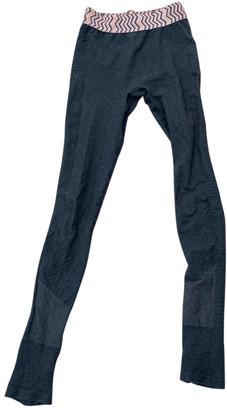 Sweaty Betty Grey Cotton Trousers