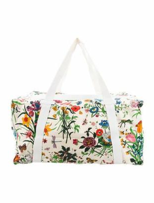 Gucci Vintage Flora Weekender Bag multicolor