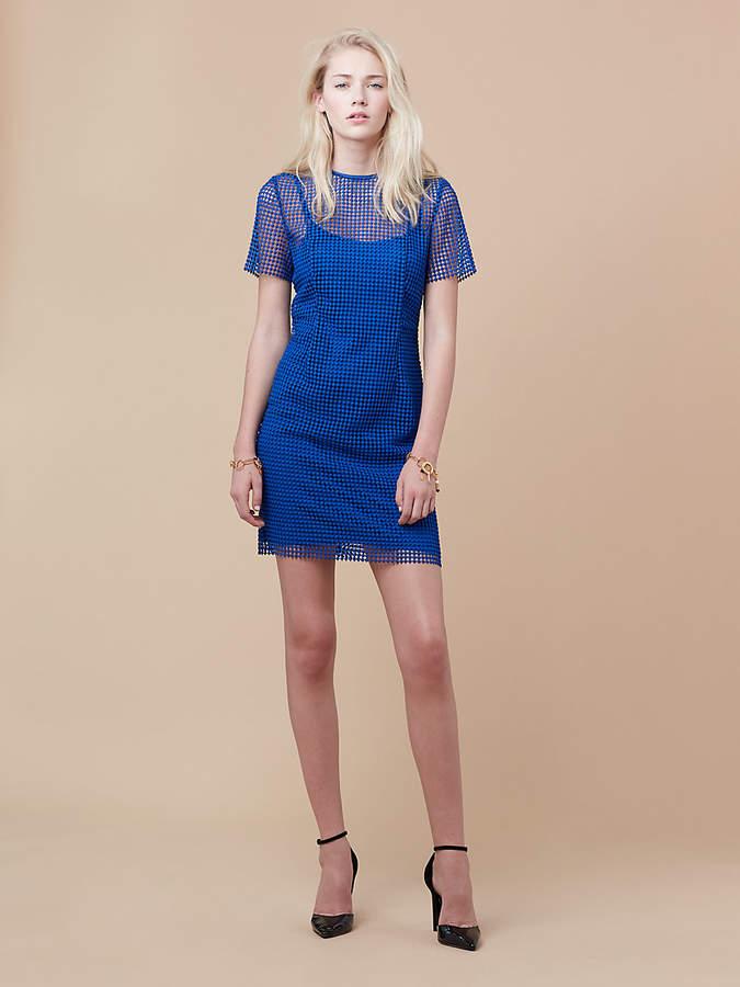Diane von Furstenberg Chain Lace Dress