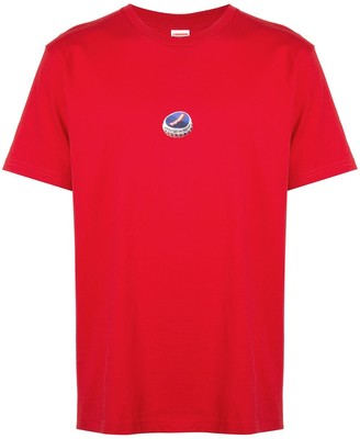 Supreme bottle cap print T-shirt