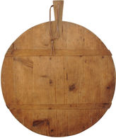 One Kings Lane Vintage Round French Harvest Bread Cheese Board