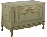 The Well Appointed House Provence Green French Toy Chest