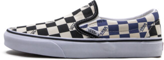 Vans Classic Slip-On 'Green Flames' Shoes - 7.5