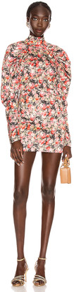 Rotate by Birger Christensen Kim Floral Mini Dress in Whitecap Gray | FWRD