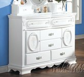 Acme 01665 Flora Dresser with Doors, Finish
