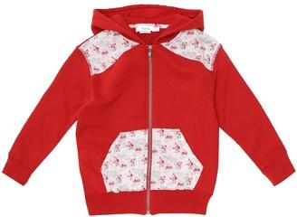 Bonpoint Liberty-print cotton hoodie